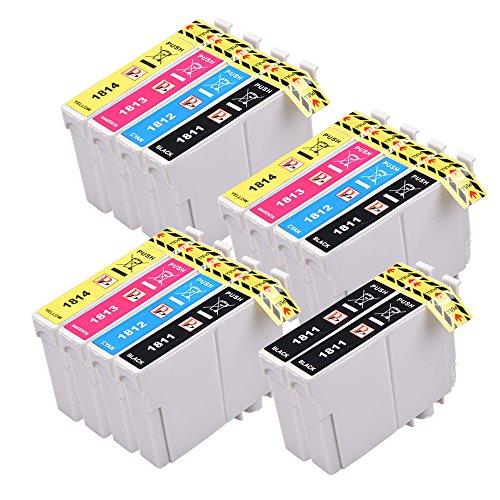 14Compatible Cartouche d'Encre pour Epson XP102XP202XP212XP215XP205Xp225XP30XP302XP305XP312XP315Xp322Xp325XP402XP412XP415XP405XP405WH Xp422Xp425X P405
