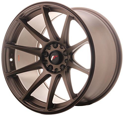 JAPAN Racing JR11 Dark Bronze 10.5 x 18 et12 5 x 114/120 jantes en alliage