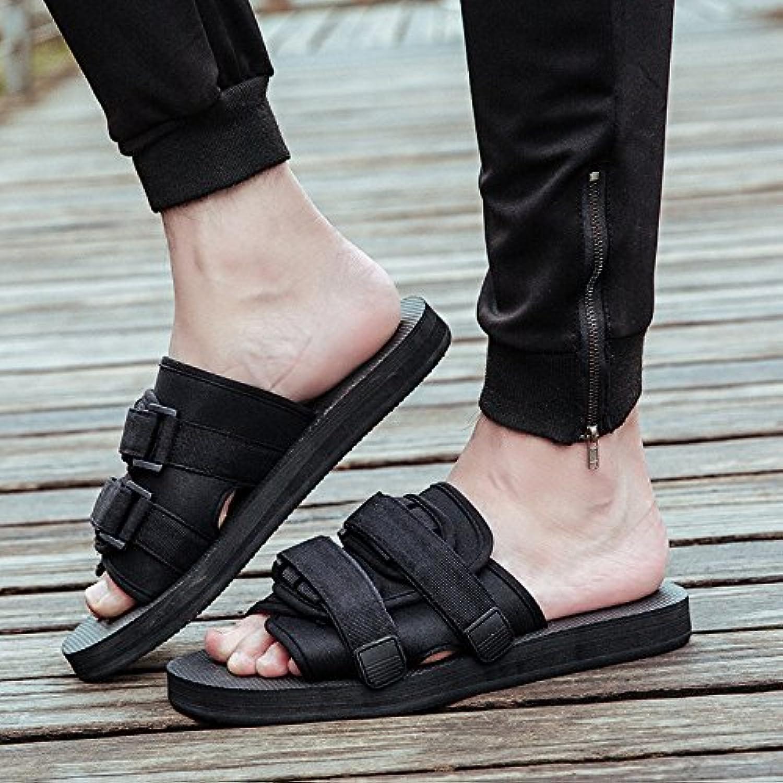 XING GUANG Männer Flip Flops Koreanische Männer und Frauen Hausschuhe Rutschfeste Paar Strand Schuhe Vietnams