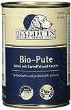 Balduin Bio-Hundefutter mit Pute und Kartoffel