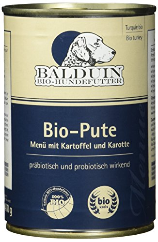 Balduin Bio-Hundefutter mit Pute und Kartoffel Preisvergleich