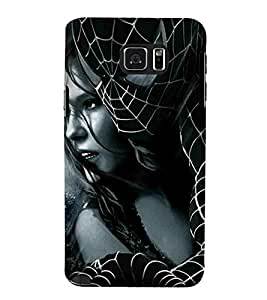 Spider, Black, Mask, Comics character, Beautiful women, Printed Designer Back Case Cover for Samsung Galaxy Note 5 :: Samsung Galaxy Note 5 N920G :: Samsung Galaxy Note5 N920T N920A N920I