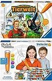 Ravensburger tiptoi® 2er Set Starter-Set: Stift & Buchstaben-Spiel + Abenteuer Tierwelt