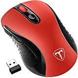 Wireless Mouse, Patuoxun 2.4G USB PC Laptop Computer Cordless Mice for Windows Macbook Apple Mac