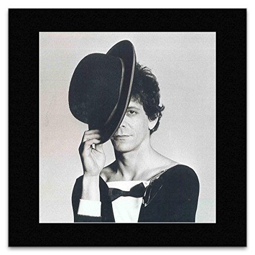 LOU REED - London 1975 Matted Mini Poster - 29.7x24cm -