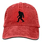Bigfoot Sasquatch Unisex Cowboy Trucker Caps with Dad Baseball Style Hat