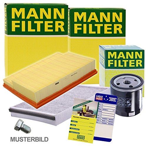 1x MANN-FILTER Inspektionspaket Filtersatz SET A -