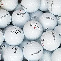 Second Chance Callaway Diablo Set 100 Palline da Golf, Categoria A, Bianco, 100