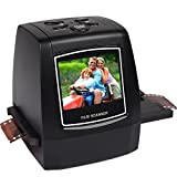 """7dayshop High Resolution Portable Film Scanner 22MP Scan Slides and Negatives 35mm, Super 8mm, 110 Film, 126 Film. Colour 2.4"""" LCD Screen with 16GB SDHC Card Bild"""