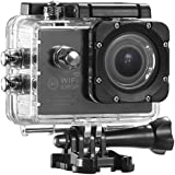 DOvOb SJ4000 Plus Waterproof Sport Action Camera (1080P/30fps 14MP 170 Degree Wide Angle) With Accessories Kits