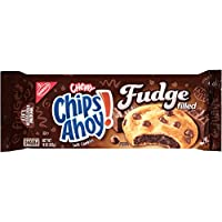 Nabisco Chips Ahoy Chewy Fudge Filled Soft Cookies, 283g