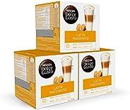 Nescafé DOLCE GUSTO Café LATTE MACHIATTO - Pack De 3 x 16 cápsulas - Total: 48 Cápsulas