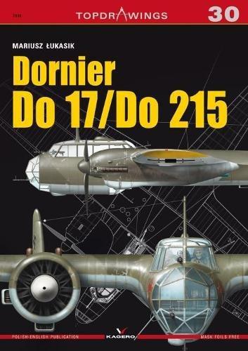 Dornier Do 17z/Do 2015 (Top Drawings) por Mariusz Lukasik