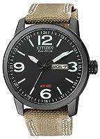 Citizen de hombre reloj de pulsera Elegance analógico de cuarzo, Eco Drive (Talla Única, Negro) de Citizen