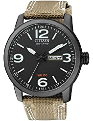 Citizen Herren-Armbanduhr Analog Quarz Nylon BM8476-23EE