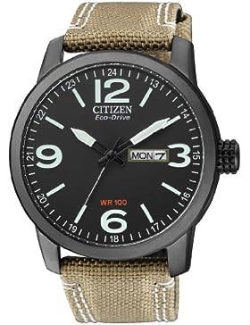 Citizen Herren-Armbanduhr XL Analog Quarz Nylon BM8476-23EE