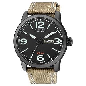 Citizen de hombre reloj de pulsera Elegance analógico de cuarzo, Eco Drive (Talla Única, Negro) 6