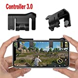 #9: Ocamo 1 Pair Mobile Phone Shooter Controller Gaming Trigger Gamepad Button Handle for PUBG Black