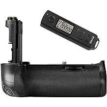 Khalia-Foto empuñadura de batería Batería con mango Meike 5DS R de radio disparador remoto con temporizador para Canon EOS 5DS R, 5DS, 5d mark iii