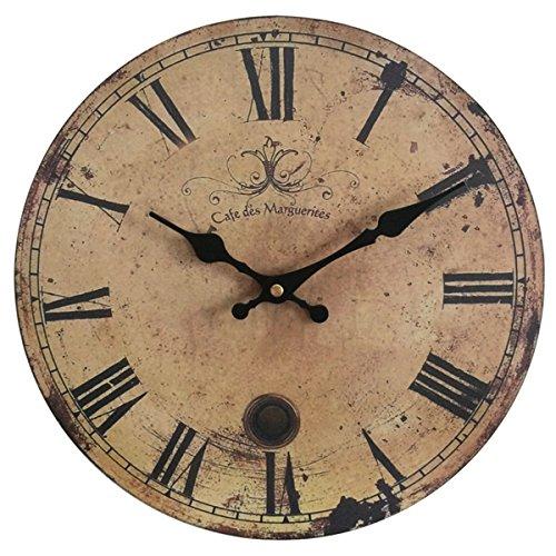 eruner-12-vintage-france-paris-cafe-des-marguerites-silent-wood-wall-clock09
