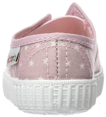 Victoria Inglesa Estrellas Elast, Unisex Baby Babyschuhe - Lauflernschuhe , rosa Rose (Rosa)