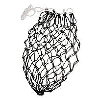 Toygogo Slow Feed Hay Net - Black, 10 Mesh Hole