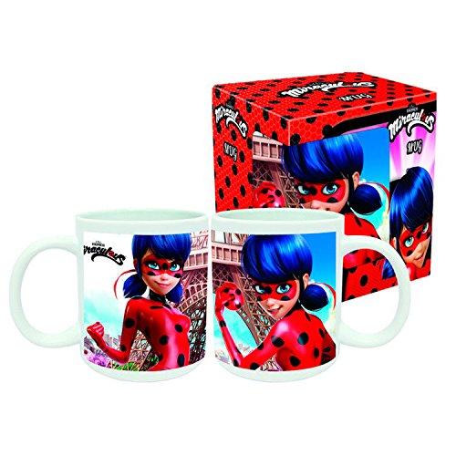Miraculous Ladybug Kakaobecher Kaffeebecher Tasse Becher für Mädchen & Jungen (Motiv 2)