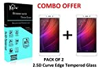 #9: (PACK OF 2)Kaira 2.5D 0.3mm Pro+ Tempered Glass Screen Protector For Xiaomi Redmi Note 4