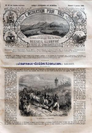 INSTRUCTION POUR TOUS (L') [No 27] du 02/01/1869