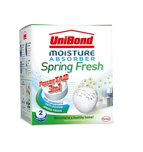 UniBond 2008967 Bubble Spring Fresh Scented Refills