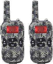 Kids Walkie Talkies, 2Pcs Mini Child Radio Walkie Talkie, 8 Channel Dual Way Walkie Talkie Gift Radio Flashlig
