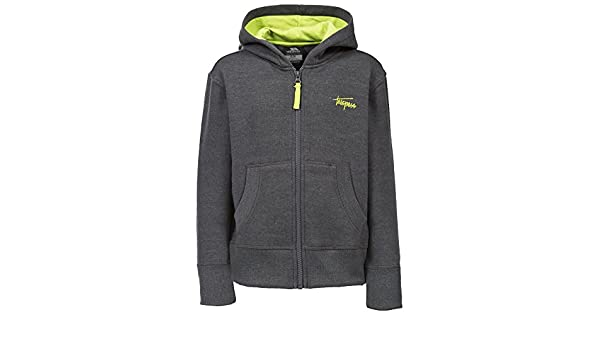 878d13ee31f1 Trespass Boys Roddy Knitted Polycotton Full Zip Contrast Hoodie ...