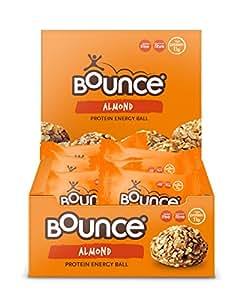 Bounce Almond Protein Hit 49g - 12 Balls Per Box
