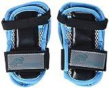 K2 Damen Schoner Inline Skates Pad Set PERFORMANCE W WRIST GUARD, Mehrfarbig (Blau/Schwarz), L