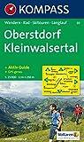 Oberstdorf, Kleinwalsertal: Wandern / Rad / Skitouren / Langlauf. GPS-genau. 1:25.000 -
