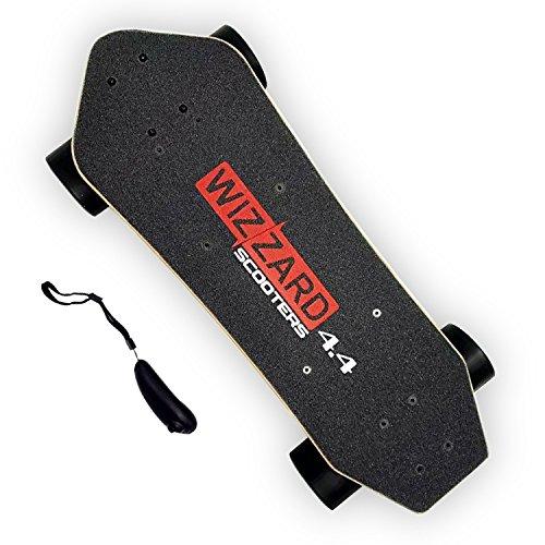 Elektrisches Longboard Wizzard 4.4 City Skateboard Elektro Scooter Elektrolongboard, 35km Reichweite 30km/h