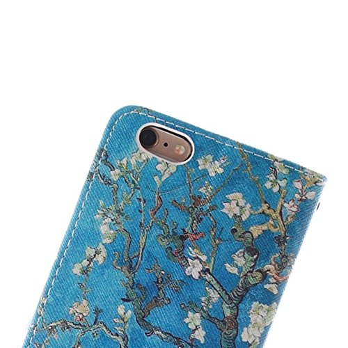 Phone case & Hülle Für iPhone 6 Plus / 6S Plus, National Windbell Cap Pattern Double Sided Print Ledertasche mit Halter & Card Slots & Wallet ( SKU : S-IP6P-0443D ) S-IP6P-0443A