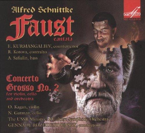 Alfred Schnittke : Faust Cantata - Concerto Grosso n°2 pour violon, violoncelle et orchestre