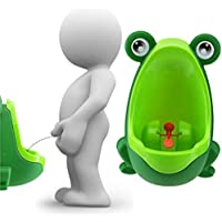 Lorcoo Urinoir de Toilette pour Garçon, Motif Grenouille Mignonne Urinoir Enfant Garçon pour l'apprentissage de la propreté