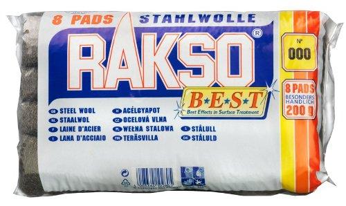 Preisvergleich Produktbild Connex COX980921 Stahlwolle-Schleifkissen extra fein, 8 Stück