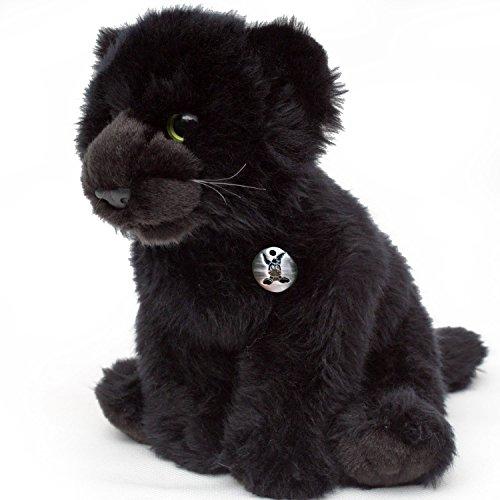 ALIMAR Pantherbaby 31 cm Plüschtier von Kuscheltiere.biz (Jaguar Kuscheltier)