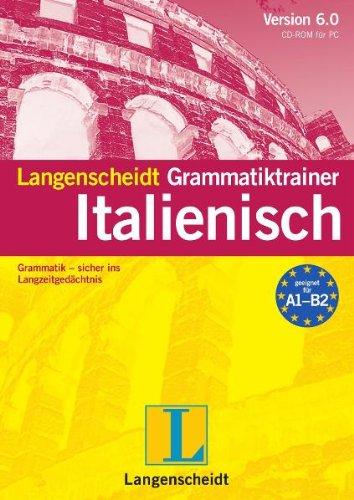 Langenscheidt Grammatiktrainer 6.0 Italienisch