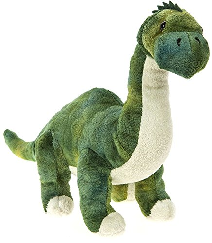 "DINOSAUR ANIMAL PLANET - Peluche Dinosaurio ""Brontosaurus"" 9""/24cm - Calidad Super Soft"