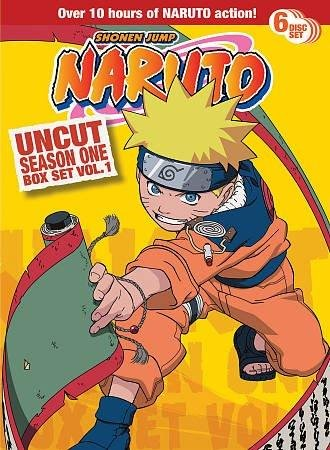 NARUTO UNCUT SEASON 1 V.1 BOX SET - NARUTO UNCUT SEASON 1 V.1 BOX SET (6 DVD) (6 Naruto Uncut Season)