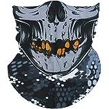 Face Mask Bandana For Men Women Headband Bandana Balaclava 3D Face Tube Mask Breathable Sun Protection Dust Mask Head Wrap For Bike Cycling Motorcycle Running Hunting Climbing Fishing Snowboard Ski