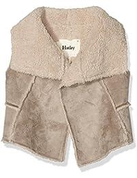 Hatley Girl's Reversible Faux Sherling Vest Gilet