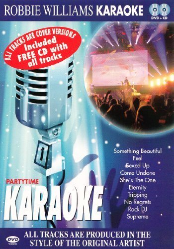 Robbie Williams - Karaoke DVD & CD By Karaoke (0001-01-01) - Karaoke-dvd-na