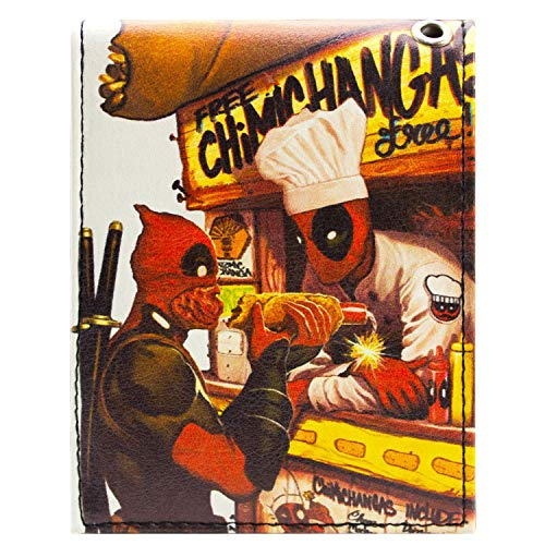 Marvel Deadpool Dynamite Hot Dog Weiß Portemonnaie Geldbörse (Das A Team Dog Kostüm)