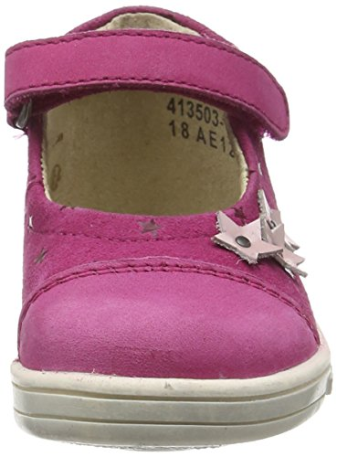Kickers Tremimi, Chaussures Bébé marche bébé fille Rose (Fuchsia)
