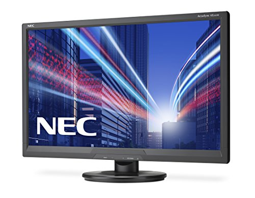 NEC AccuSync AS242W 24 Inch Monitor Black 10001 169 300cd m 1920 x 1080 5ms VGA DVI D Products